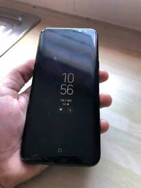 S8 plus boxed full working just damaged