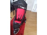 Phil & teds double buggy & accesories
