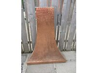 Reduced - Hand beaten copper canopy