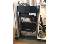 Zanussi integrated 45cm Dishwasher