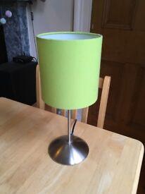IKEA green desk / table lamp