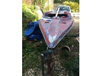 Boat and trailer £100 ONO