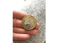Commonwealth games £2 coin