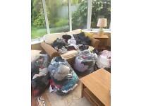 Women's and men's clothes £1 per item