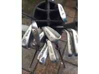 Wilson golf club set, and few others