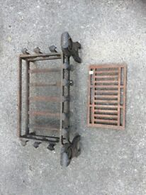fire grate for open fire