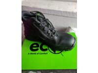 Ecos S3 steel toe cap boots as new size 9