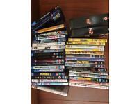 DVD and Blu Rays