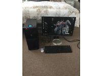 complete mid range gaming pc setup