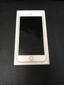 IPHONE 6S PLUS 16GB GOLD UNLOCKED FULLY BOXED APPLE WARRANTY