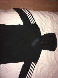 Black Adidas gym jacket !