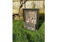Gas Fire Living Flame Type - Free