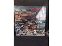 Black Sabbath vinyl album.