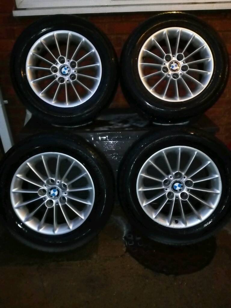 BMW E39 5 Series Alloys and Matching Tyres