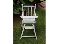 Triang doll's high chair