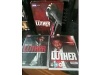 LUTHER dvds series 1 & 2