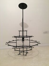 5 tier wine glass chandelier paid £535 six months looking for £190