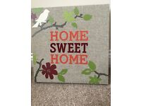For sale. Home Sweet Home Picture