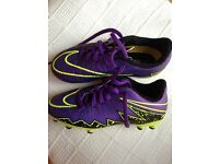 Nike football boots, child's size 12