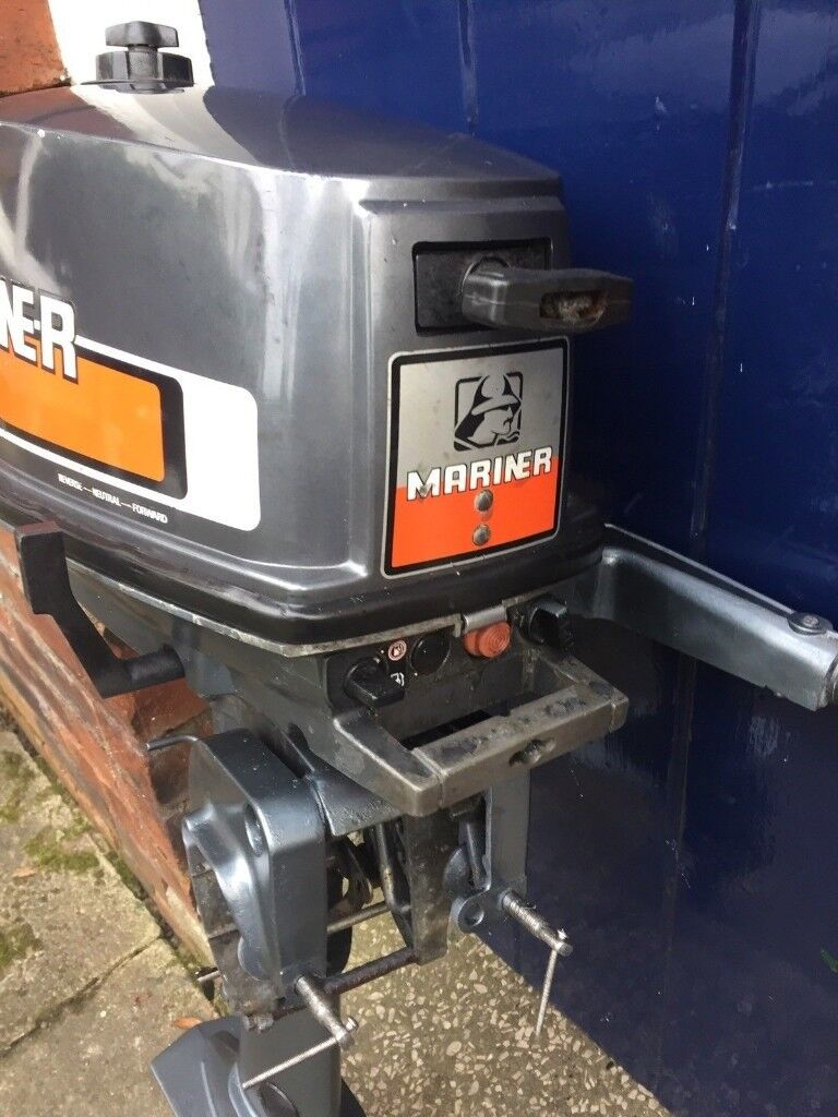Mariner 4hp 2-stroke outboard boat engine