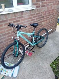 Ladies Apollo Suspension bike, Enhanced Suspension Technology. Sensible offers welcome!!