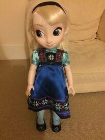 Disney Animator Elsa and Anna dolls