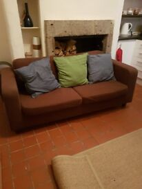 Nearly new 2 seater sofa