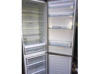 Hisense fridge freezer silver colour... free delivery