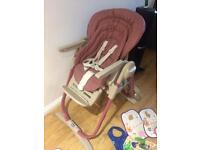 Chicco polly magic high chair highchair