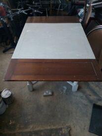 Extending vintage pub tables