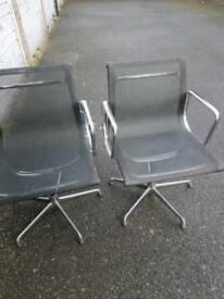 2x Eames Style office Chair