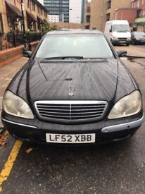 Mercedes Benz S320 Great Condition 52 Plate!