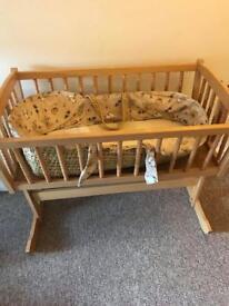 New born swinging cot
