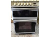 Belling Diamond Gas Cooker G750 - White - Freestanding - Very Good Condition