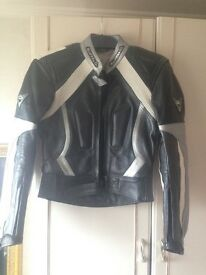 Leather Buffalo biker jacket