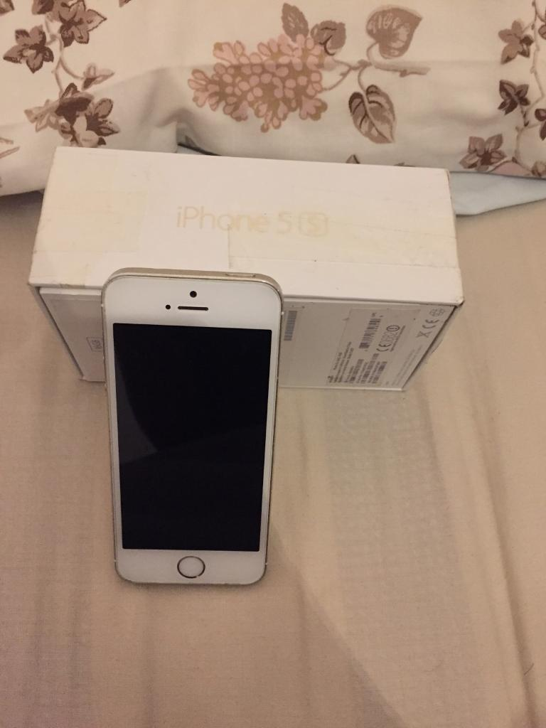 iPhone 5S goldin Enfield, LondonGumtree - iPhone 5S for sale very cheap and in good condition selling for £100 need sold asap as need the money for uni and recently bought an upgrade the phone is on EE