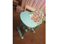High chair mother care