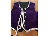Highland dancing waist coat