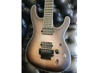 Ibanez Six6dfm dark spaceburst guitar (new)