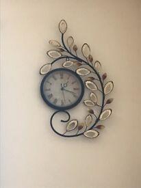 Beautiful matel wall clock