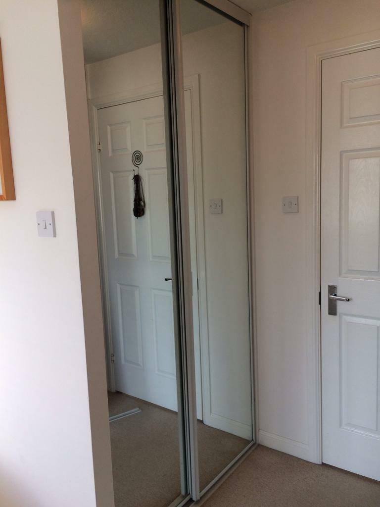 Stanley Sliding Mirrored Wardrobe Doors X 4 In Colchester Essex
