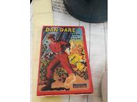 Dan Dare cards. Toy collectible retro
