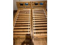 Matching IKEA toddler beds for sale