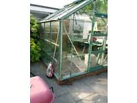 Greenhouse 8ft4 x 8ft4 and propergator