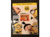 Disposable me 3 blue ray