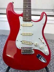 Fender Squier Korean Stratocaster Rare E-Serial 1987