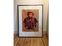 Limited Edition - Jimi Hendrix - Framed Print by Gered Mankowitz