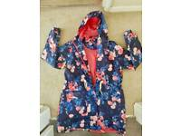 Ladies Floral rainmac