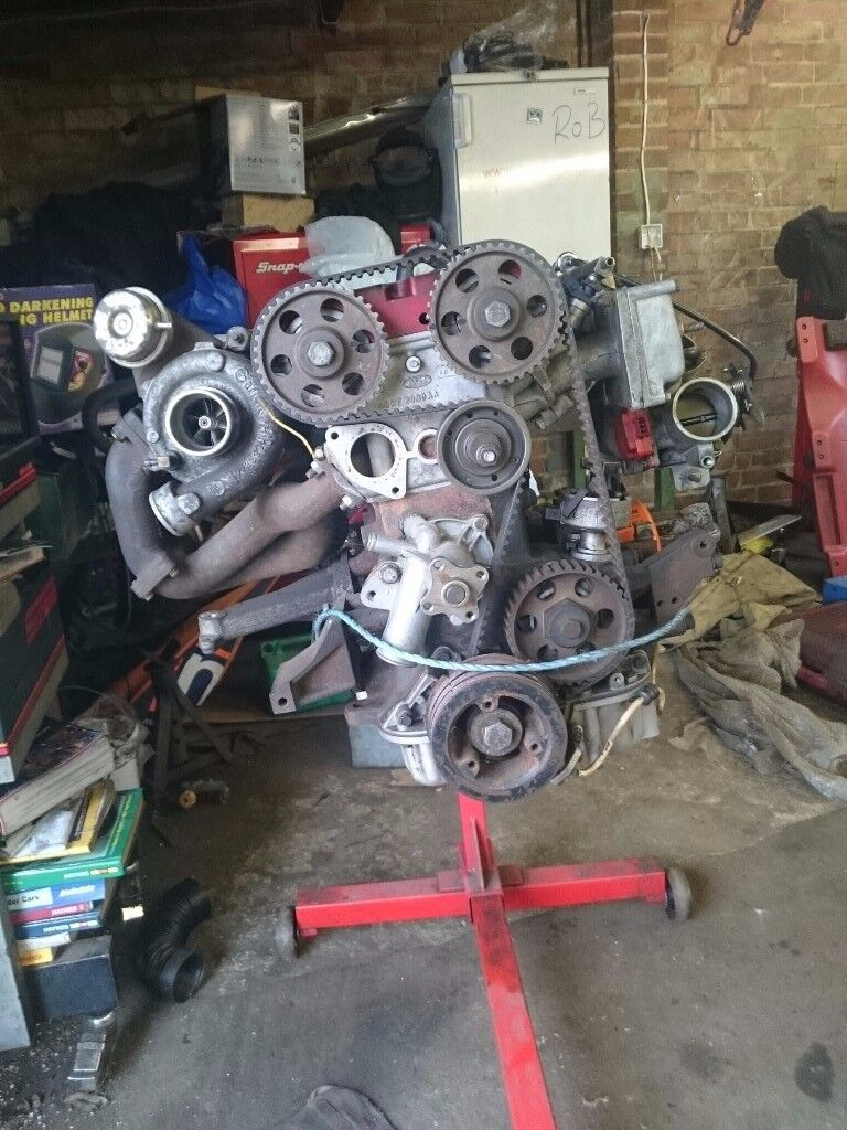 Rebuilt 2 0 COSWORTH ENGINE + GEARBOX  Comes with wiring