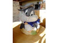 Vintage Bugs Bunny Cookie Jar Warner Brothers
